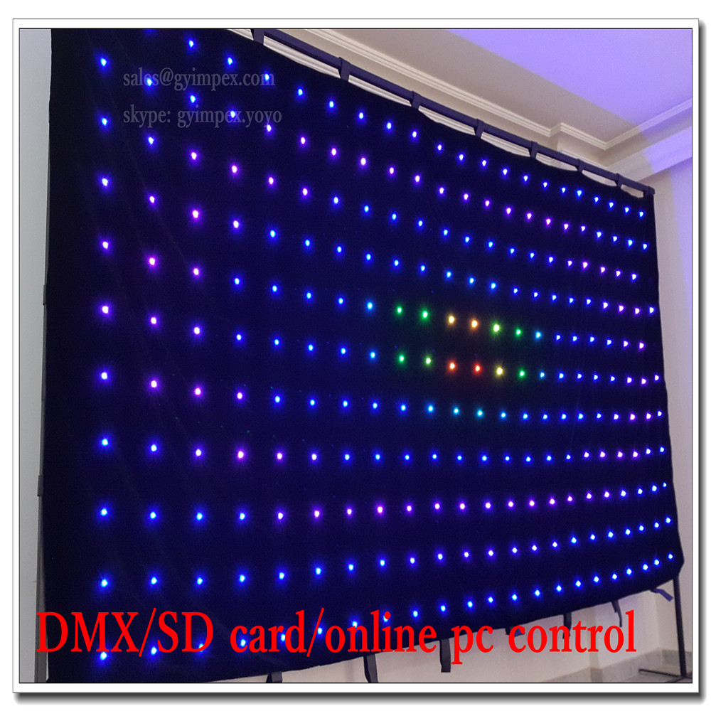 high definition p16cm 8x4m pc controller software led light video