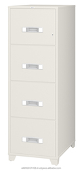 B4-4C / Good quality Fire resistant Filing Cabinet for Office with Key Lock