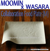 Japanese paper plate Moomin & Wasara collaborated party items