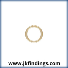 """1/20 14K Gold Filled Jewelry Findings Jump Ring 22ga .025x.200"""" (0.64x5.0mm) CL"""