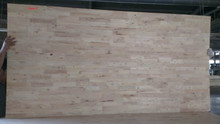 Rubber wood finger joint laminated panel-CC grade