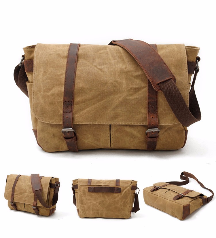canvas messenger bag with leather trim  (12).jpg