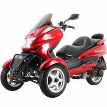 Brand New Trike Gas Motor Scooters 150cc 3 Wheels Moped.