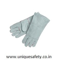 PURE CHROME LEATHER REVERSABLE HAND GLOVES