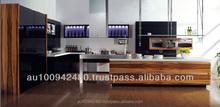KITCHENS / piano / metalic finish painting/ laminate / MDF/ Melamine Kitchen Cabinet