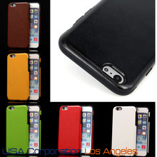 8 Colors - Luxury Soft TPU PU Leather Back Cover Case for iPhone 6 4.7 Inch USA, Los Angeles Wholesale