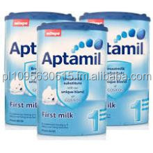 100% Ireland and Germany Origined DANONE Manufactured Aptamil All Series Skimmed Milk Powder