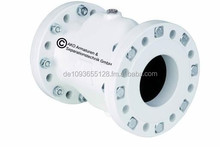 Air Pinch Valve with flange connection, VF Series, aluminum flange with steel bushing