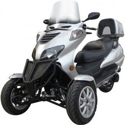 Sunny 150cc Three-Wheel Trike Scooter-Two Front Wheels