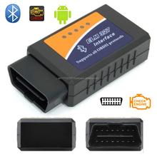 OBD/OBDII Scanner Code Reader ELM327 V1.5 Bluetooth Car Vehicle Diagnostic Scan Tool ELM 327 supports all OBD-II protocols