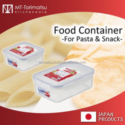 Polypropylene Plastic Stock Container For Food Frozen Food Snack Food