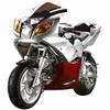 EPA&DOT APPROVED + FREE SHIPPING 110cc Auto 4 Stroke X19 Super Pocket Bikes