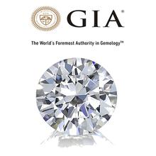 Real Natural Solitaire 3.01Ct VS1/E Round Brilliant Cut Certified Diamond