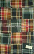Cotton fleece patchwork tela 190 g