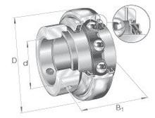 Radial insert ball bearing GE55-KTT-B INA