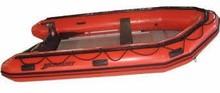 Mercury Heavy Duty Hypalon Inflatable Boat, Red, 13-Feet 7
