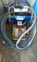 GRACO High pressure spray machine Reactor E-XP2, with Graco Fusion CS gun