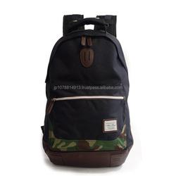 Genuine and Casual men shoulder leather bag designed in Japan with multiple pockets