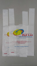 3 colours chicken plastic bag