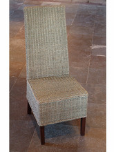 Sidechair in wicker