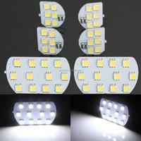 6pcs/set Super Bright Led Interior Dome+Map Reading Light Lamp for PEUGEOT 206 307 308 3008 408 508 CITROEN C5