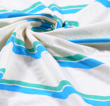 95% Cotton -5 % Spandex Stripe Single Fabric - DS-ALI-008