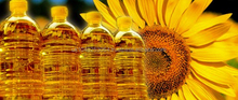 Health certified vegetable oil and sunflower oil