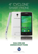 "CORE DIGITAL 3G DUAL CORE 4"" MOBILE PHONE"
