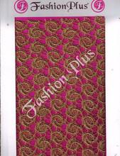 Latest Design Indian Chiku Zari Fabrics All Over
