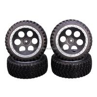 Brand New Top Quality 4pcs/set FS Racing 53632/53610 Tire set 1/10 RC Car Spare Parts Rubber