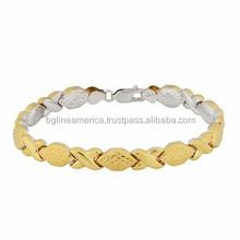 Women Fashion Charm Bracelet Factory Direct Sell Gold x Chain Bracelet