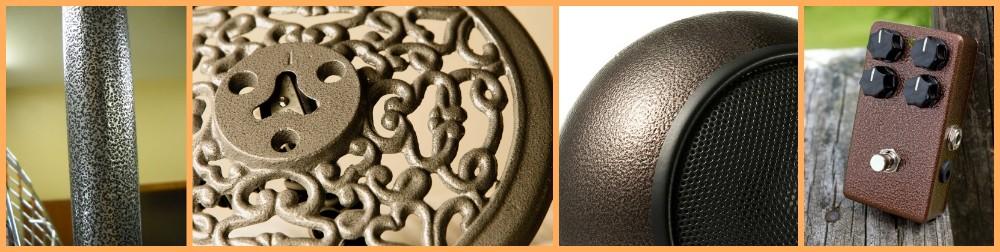 Античная молот текстура треск отделка электростатического покрытия, краски