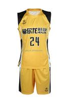 Professional Custom cheap basketball jersey dry fit basketball wear