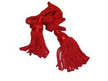 Scottish Great Highland Bagpipe Drone Cord Silk Red Color/Bagpipe Silk Cord Also available in other colours