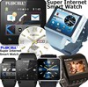 Super Internet Wristwatch From Fujicell Japan