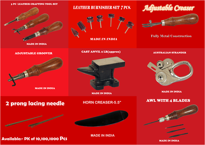 Widely used leather craft hand tools from india buy for Quality craft tool box
