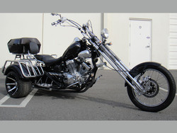 new 250cc Road Warrior 3 Wheeled Chopper