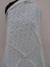 ocean textile embroidered style cotton eyelet fabrics