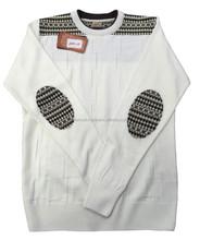 Pached Knitting Men's Sweater - %50 Acrylic %50 Wool - Custum Producing or Stock Produt