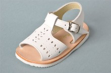 CHILDREN SANDAL IN LEATHER MADE IN SPAIN