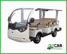 ECAR - 11 Seat Passenger Electric Shuttle Bus for Resort & Parks LT_S11