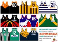 New Custom dye sublimated Australian Football Jersey