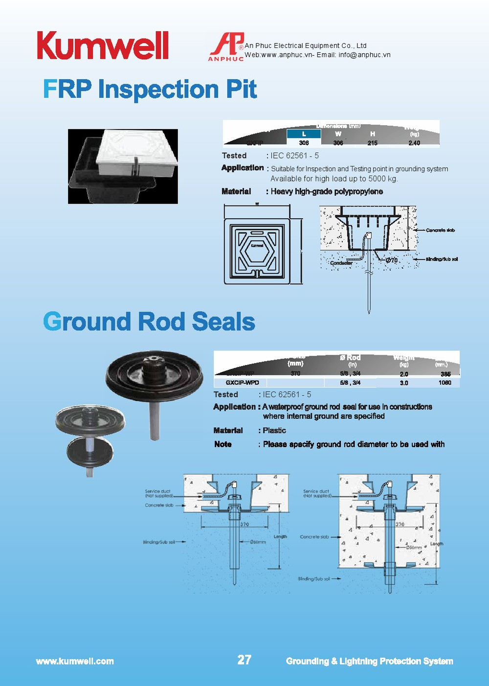 Frp Inspection Pit View Kumwell Product Details Electrical Earth Diagram 0043