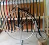 high wheel bicycle, penny farthing,classic bike