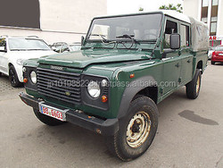 USED CARS - LAND ROVER DEFENDER 130 TD5 CREW CAB (LHD 5014)