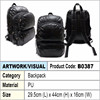 Backpack / Black PU Backpack
