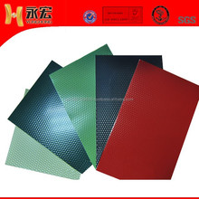embossing and PE coating aluminum sheet for roof ( 1050)