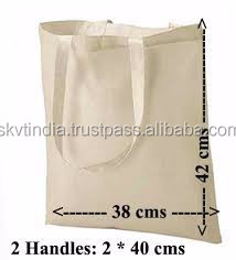 blank cotton canvas tote bag plain cotton canvas tote bag