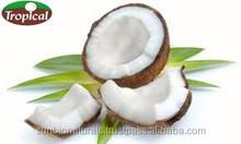 Pura extra virgem prensado a frio óleo de coco