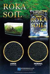 Aquarium Black Soil ROKA SOIL by KOTOBUKI KOGEI made in JAPAN